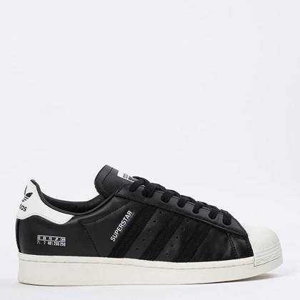 Tênis adidas Superstar Core Black Off White FV2809
