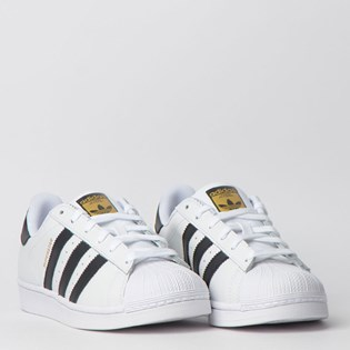 Tênis Adidas Superstar Foundation Branco Preto CI9166
