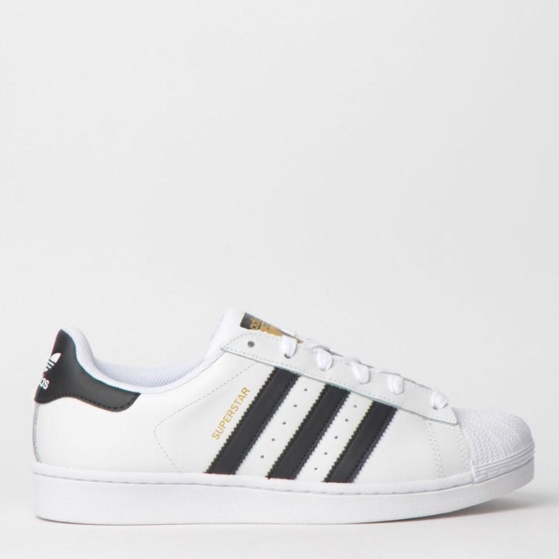 Tênis Adidas Superstar Foundation Branco Preto CI9166