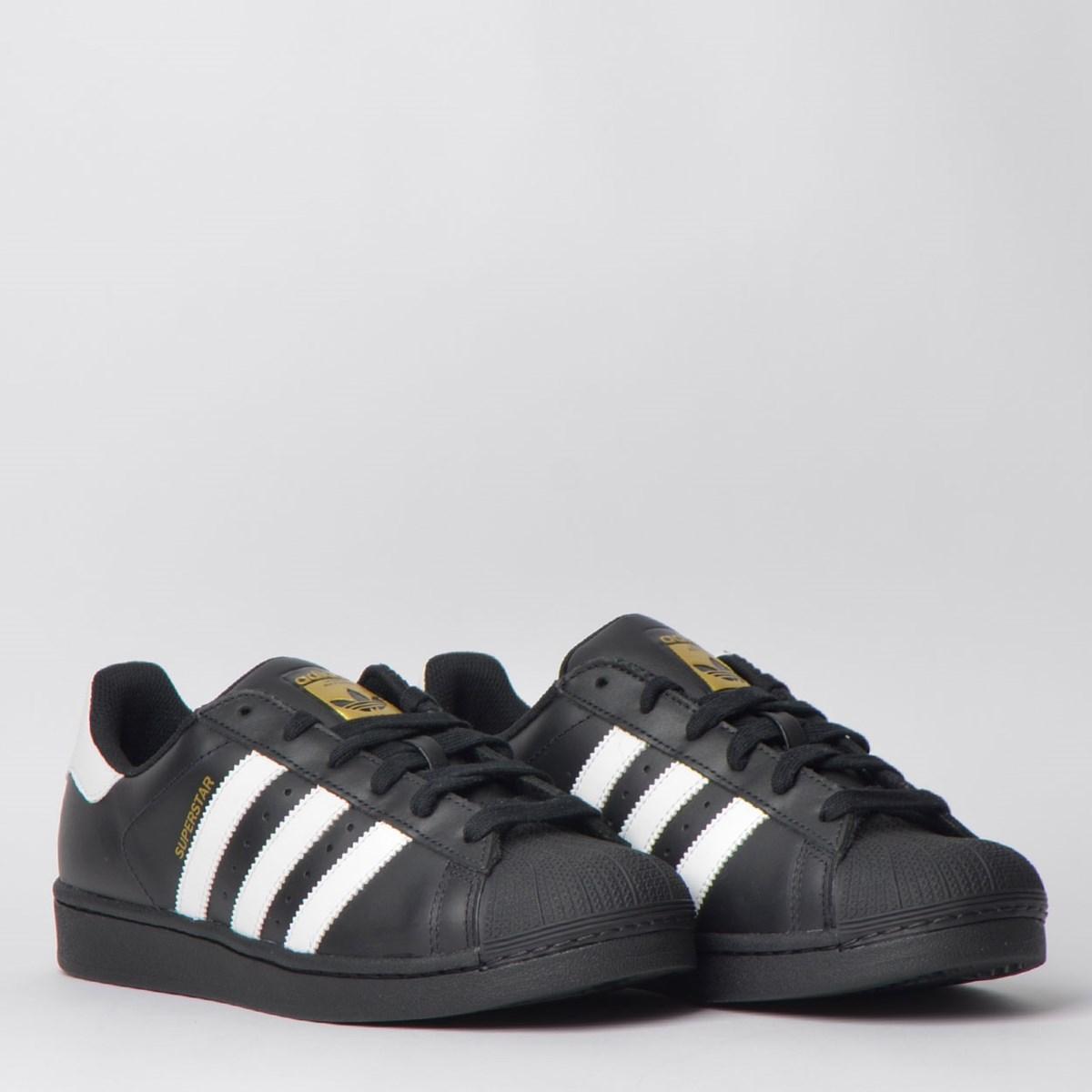 Tênis Adidas Superstar Foundation Preto Branco CI9168
