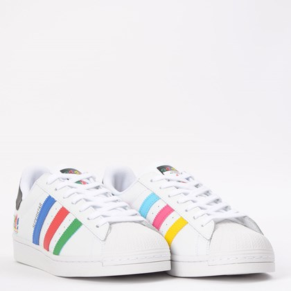 Tênis adidas Superstar Ftwr White Green FW5236