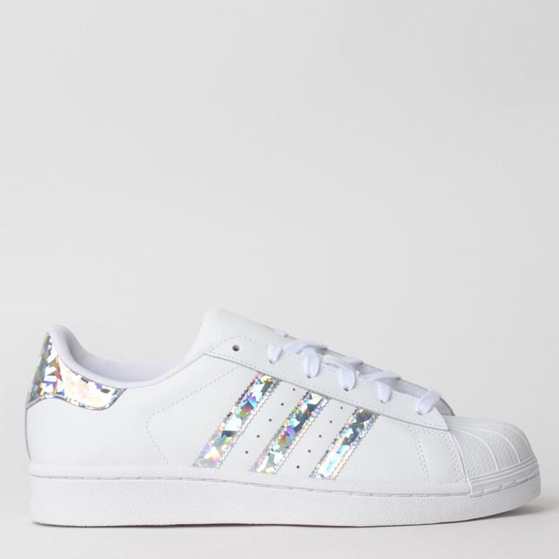 Tênis Adidas Superstar J Branco F33889