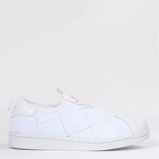 Tênis Adidas Superstar Slip On Branco FV3186