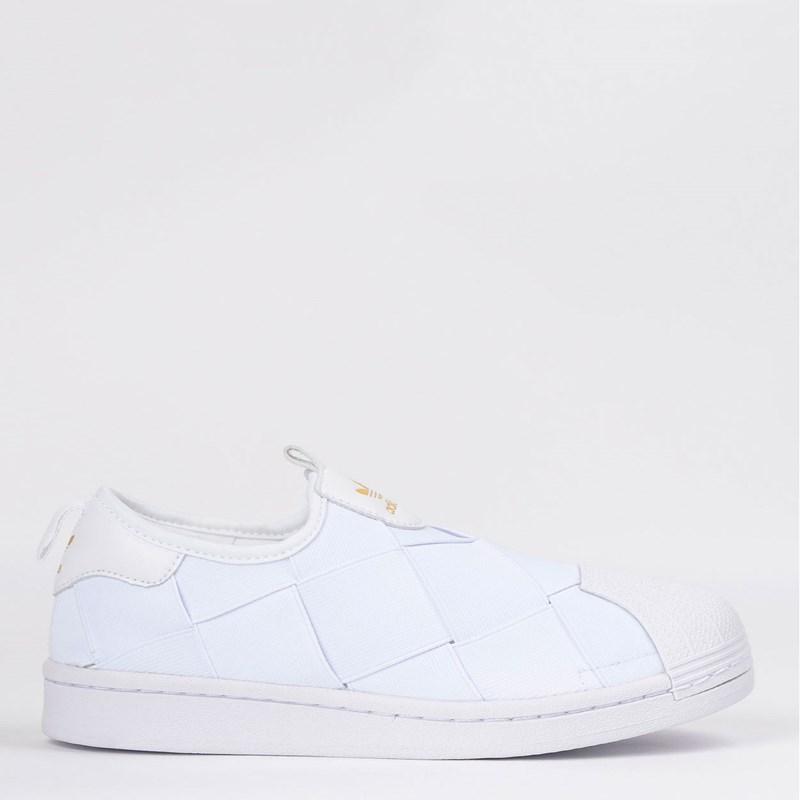 Tênis Adidas Superstar Slip On Branco FV3186