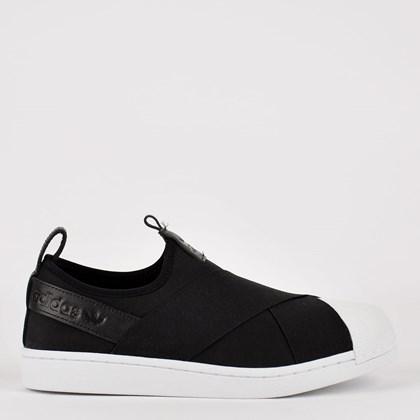 Tênis adidas Superstar Slip On Core Black FW7051