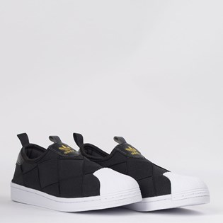 Tênis Adidas Superstar Slip On Preto FV3187