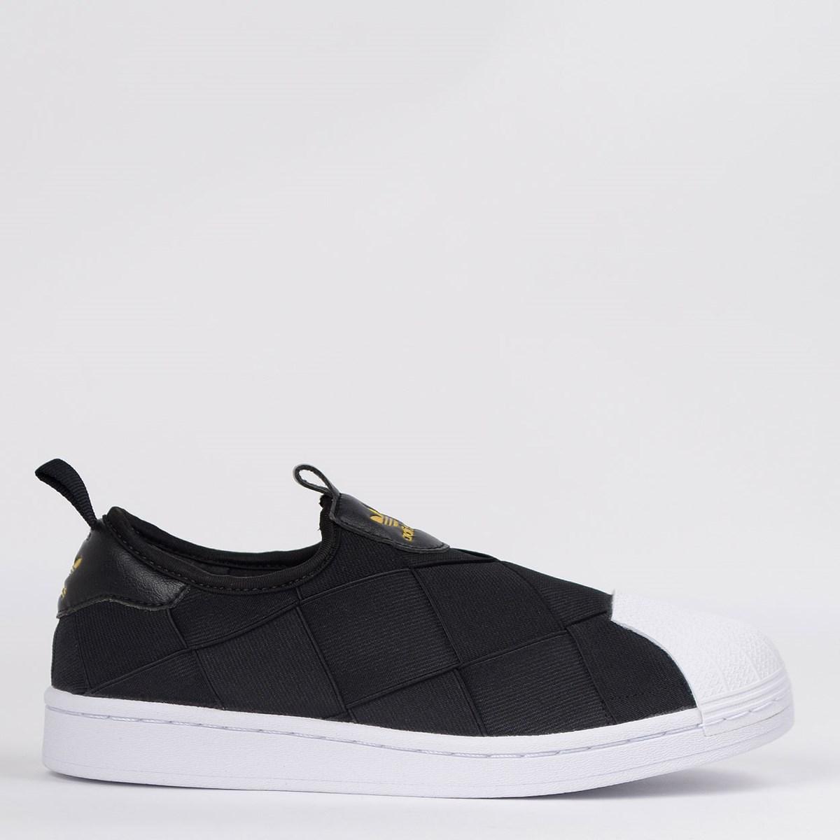 Tênis Adidas Superstar Slip On Preto FV3187