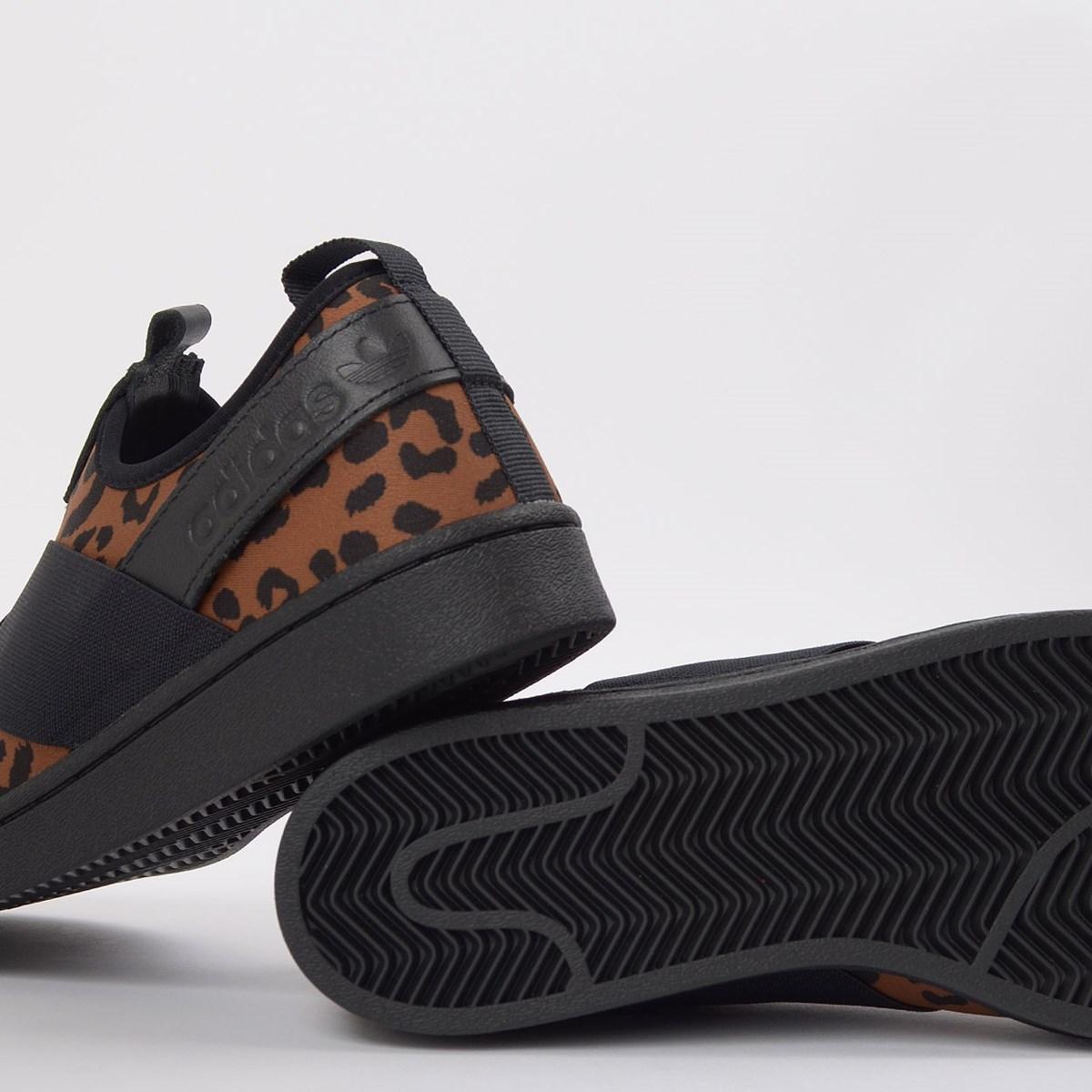 Tênis adidas Superstar Slip On W Animal Print Suplier Colour EX4623