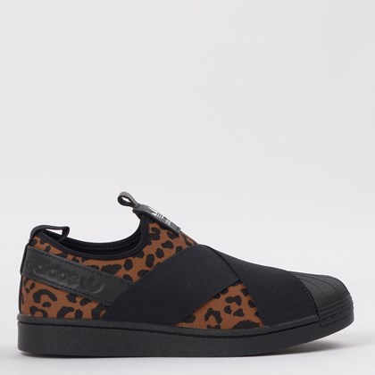 Tênis adidas Superstar Slip On W Animal Print Suplier Colour EX4623