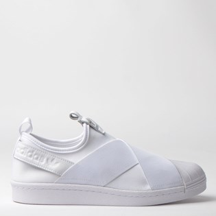 Tênis Adidas Superstar Slip On W Branco Branco S81338