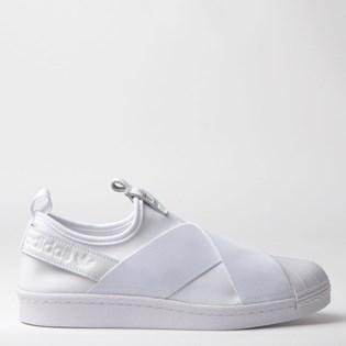 Tênis Adidas Superstar Slip On W Branco Branco S81338