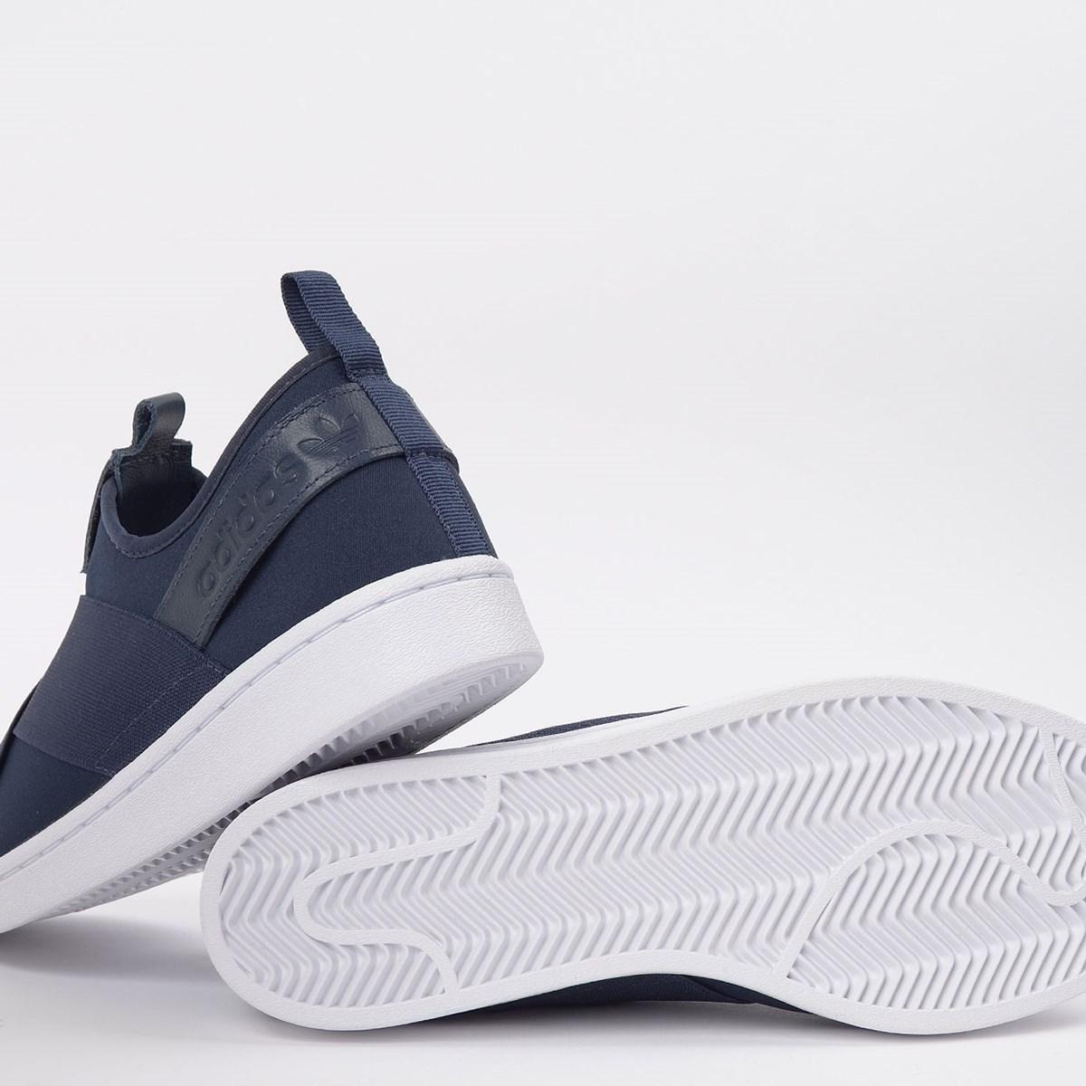 Tênis adidas Superstar Slip On W Collegiate Navy EX4624