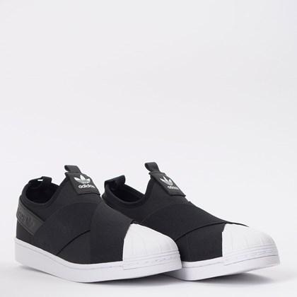 Tênis adidas Superstar Slip On W Core Black EW2053