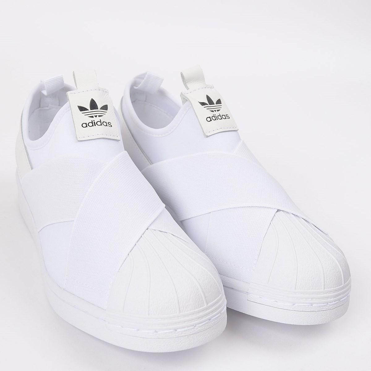 Tênis adidas Superstar Slip On W Ftwr White EX4625