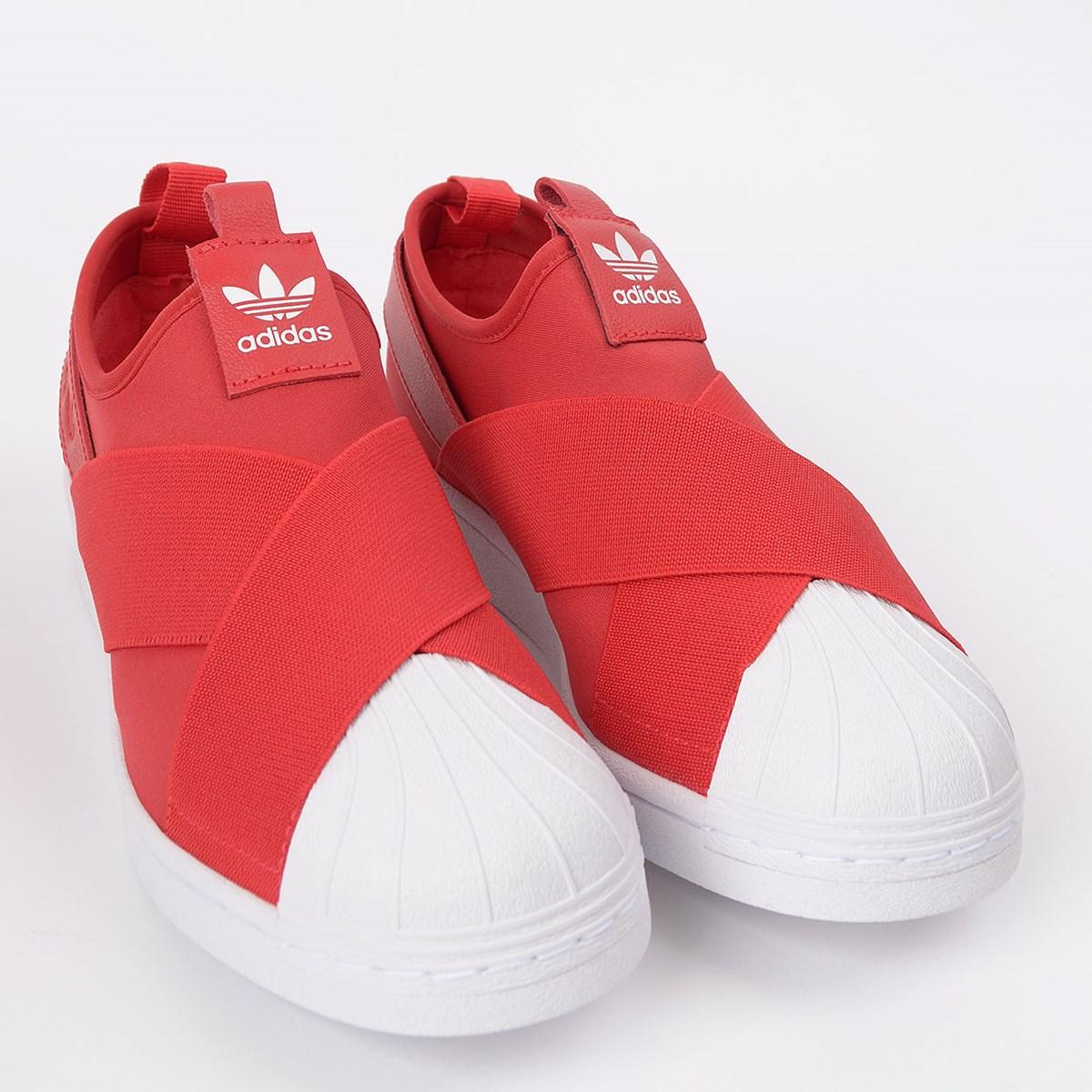 Tênis adidas Superstar Slip On W Scarlet EX4626