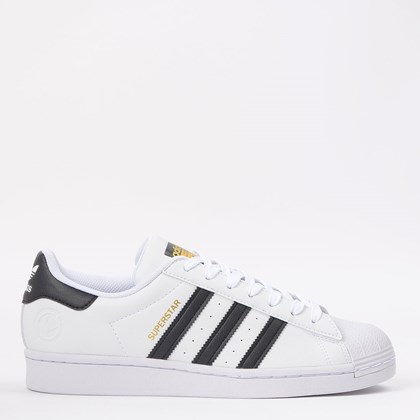 Tênis adidas Superstar Vegan Ftwr White Core Black FW2295