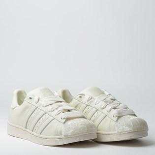 Tênis Adidas Superstar W Off White CG6010