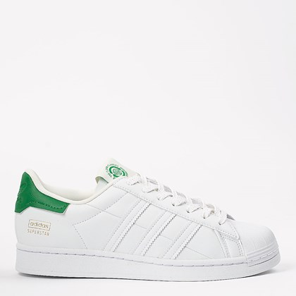 Tênis adidas Superstar White Green FY5480