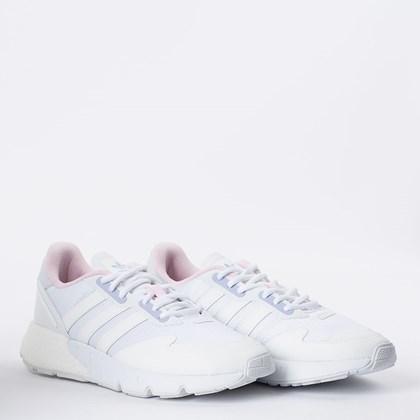 Tênis adidas ZX 1K Boost Cloud White Violet Tone H02939