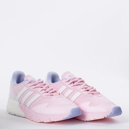 Tênis adidas ZX 1K Boost W Clear Pink Cloud White H02936