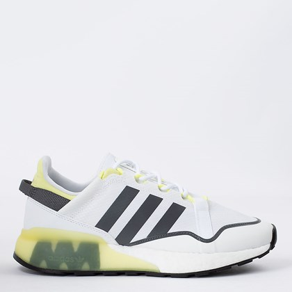 Tênis adidas ZX 2K Boost Pure Cloud White Pulse Yellow GZ7729