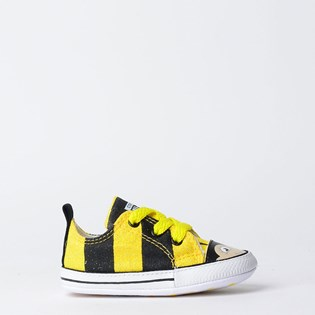 Tênis Converse All Star Abelha My First All Star Kids Amarelo Preto CK06700001