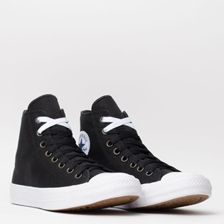 Tênis Converse All Star Chuck Taylor II Hi Black White Navy 153049