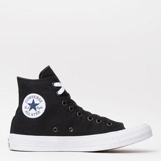 Tênis Converse All Star Chuck Taylor II Hi Black White Navy 153049