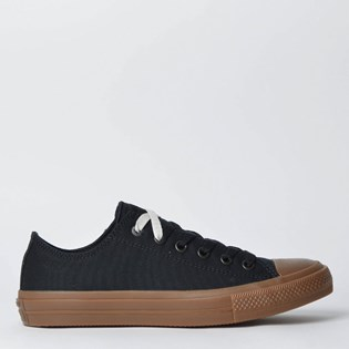 Tênis Converse All Star Chuck Taylor II Ox Black Gum 155501
