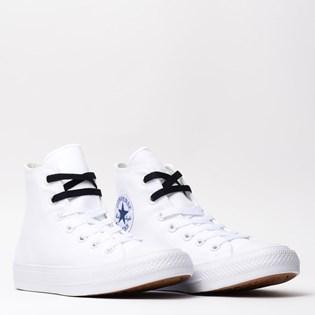 Tênis Converse All Star CT As Chuck Taylor II Hi White Navy 155247