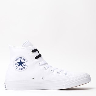 Tênis Converse All Star CT As Chuck Taylor II Hi White Navy 155247