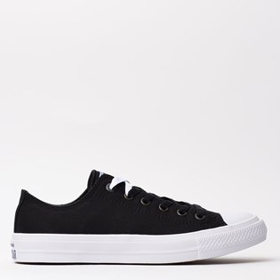 06508e7c9ce Tênis Converse All Star CT As Chuck Taylor II Ox Black White 553057 ...