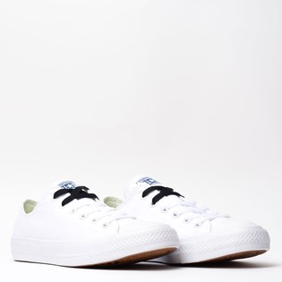 Tênis Converse All Star CT As Chuck Taylor II Ox White Navy 155248