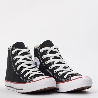 Tênis Converse All Star CT As Core Hi Preto Vermelho CT00040007