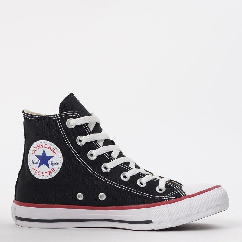 Tênis Converse All Star CT As Core Hi Preto Vermelho