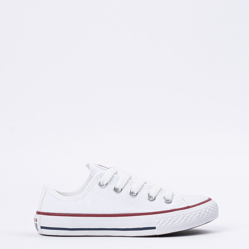 Tênis Converse All Star Kids CT As Core Ox Branco CK00020001