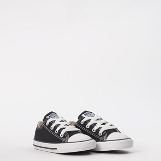 Tênis Converse All Star Kids CT As Core Ox Preto CK00010002