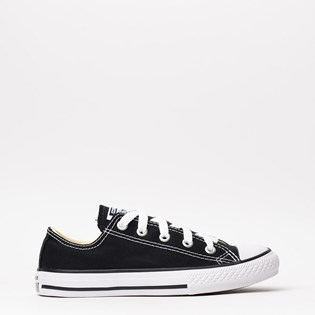 Tênis Converse All Star Kids CT As Core Ox Preto CK00020002