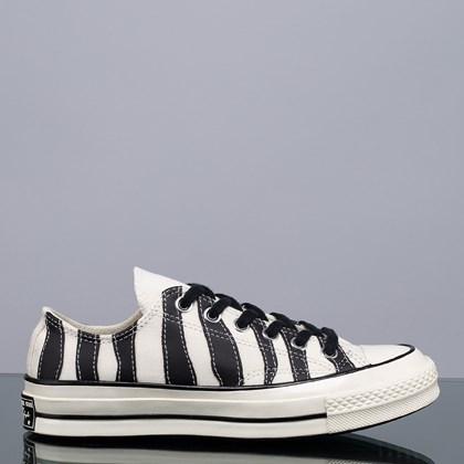 Tênis Converse Chuck 70 Archive Zebra Ox Egret Black 168906C