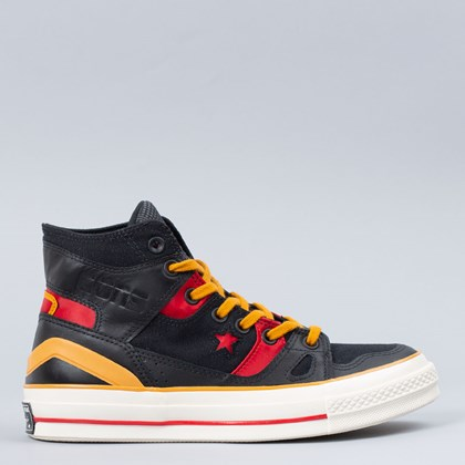 Tênis Converse Chuck 70 E260 Bleeding Color Hi Black Saffron Yellow 168870C