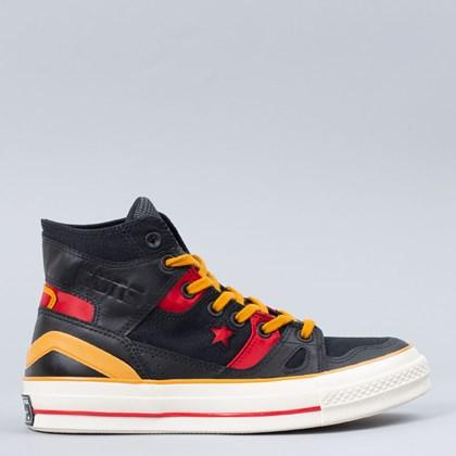 Tênis Converse Chuck 70 E260 Bleeding Color Hi Black Saffron Yellow 168870C