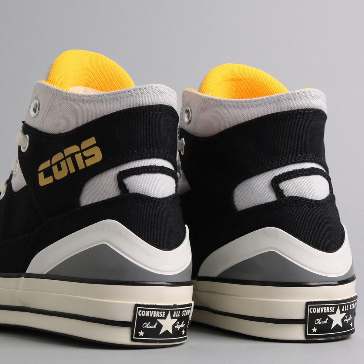 Tênis Converse Chuck 70 E260 Hi Black Laser Orange Photon Dust 167055C