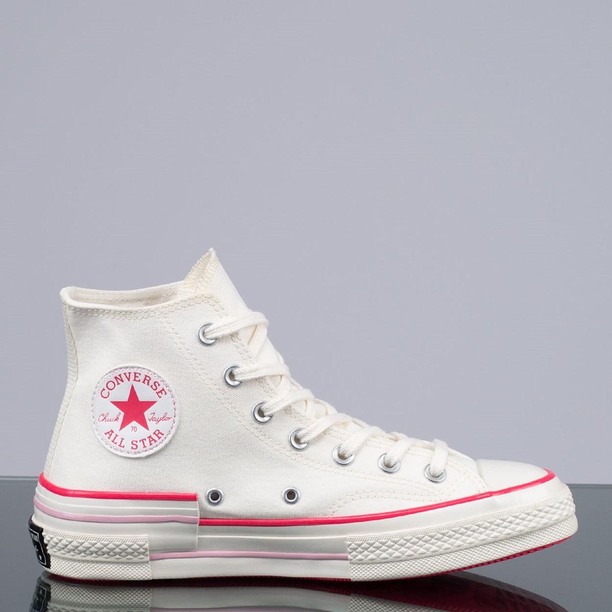 Tênis Converse Chuck 70 Hi Amendoa Carmim CT15030001