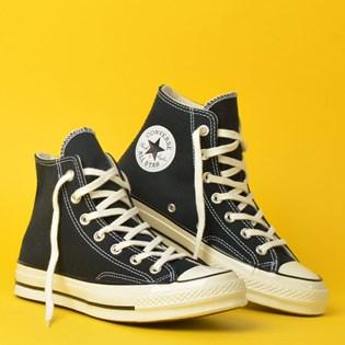 Tênis Converse Chuck 70 Hi Black Black 162050C