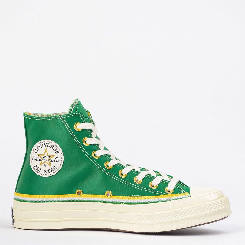 Tênis Converse Chuck 70 Hi Breaking Down Barriers Celtics Green 167060C