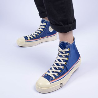 Tênis Converse Chuck 70 Hi Breaking Down Barriers Knicks Rush Blue 166815C