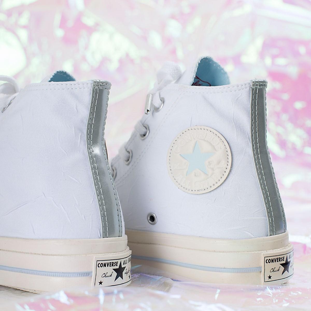 Tênis Converse Chuck 70 Hi Easter Pack Branco Azul CT17340002