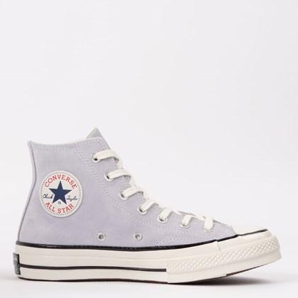 Tênis Converse Chuck 70 Hi Leather Lilas CT15630003