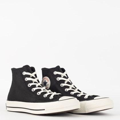 Tênis Converse Chuck 70 Hi Leather Preto CT15630001