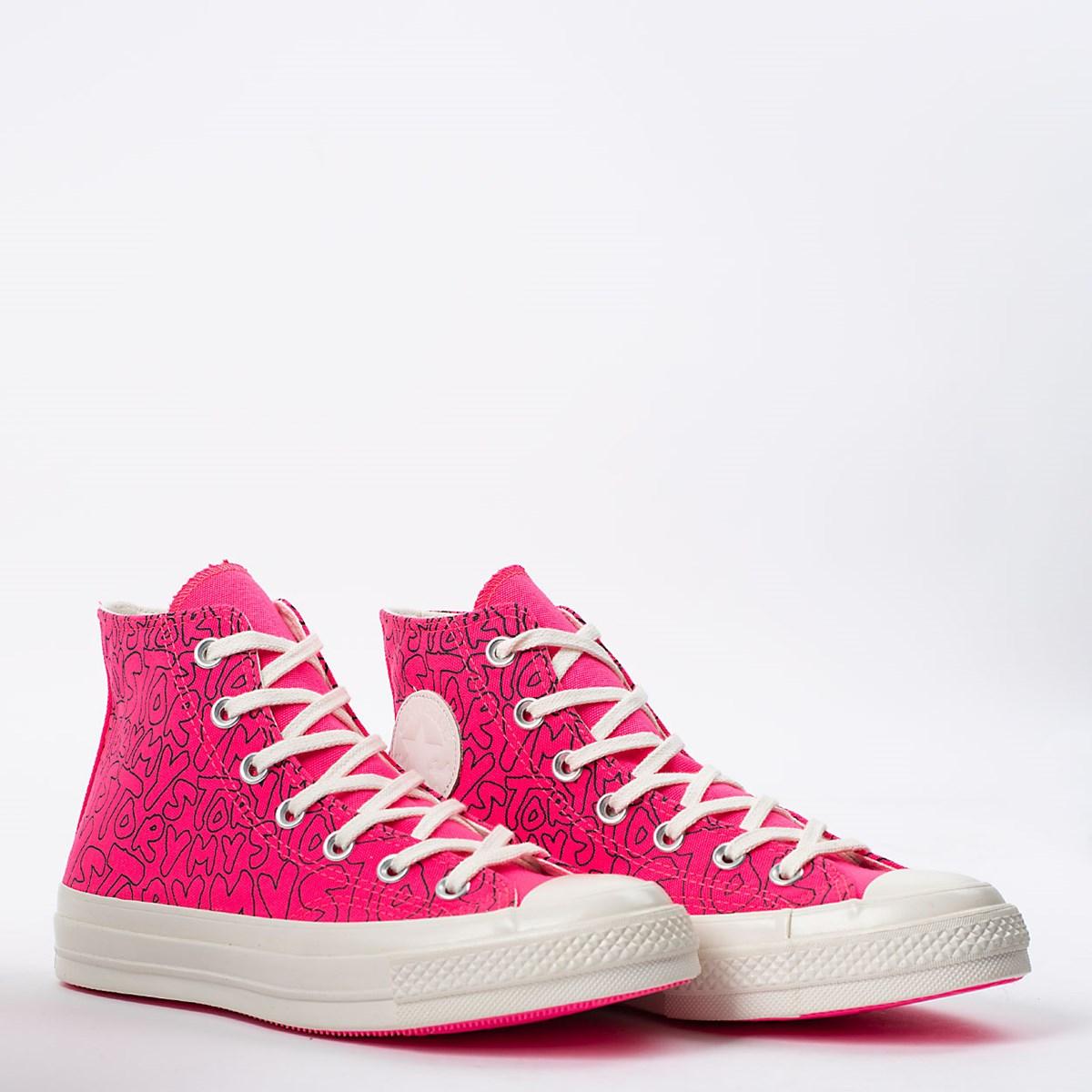 Tênis Converse Chuck 70 Hi My Story Rosa Choque CT16230001